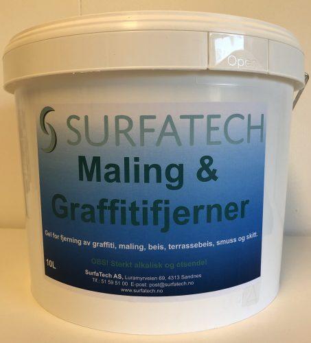 SurfaTech Maling & Graffitifjerner