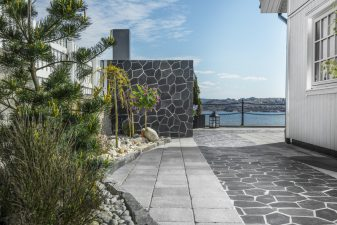 Vedlikeholdsvennlig beskyttelse av stein, mur og betong - Case Eigerøy - SurfaPore M - 2